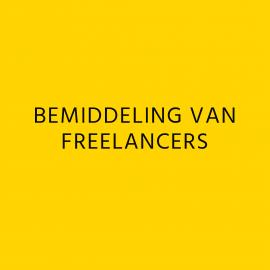 4) Diensten - Bemiddeling Freelancers