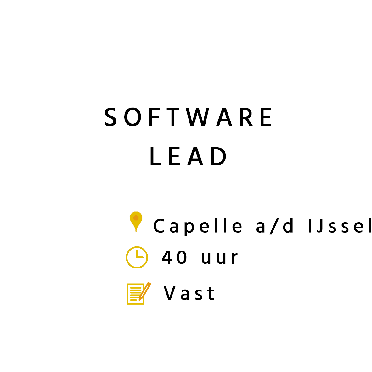 Software Lead