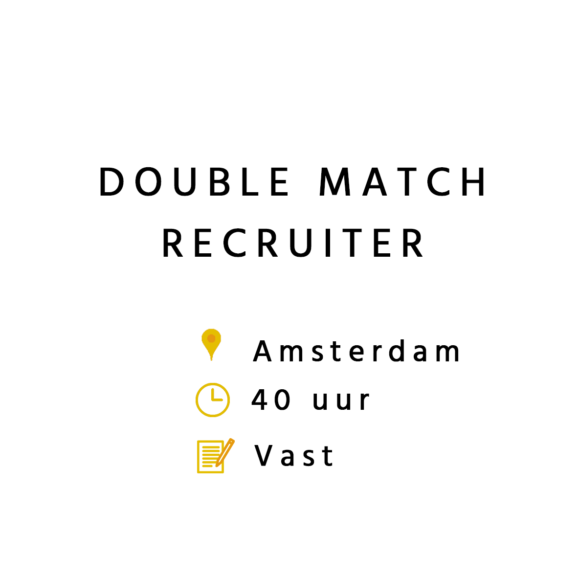 Double Match Recruiter