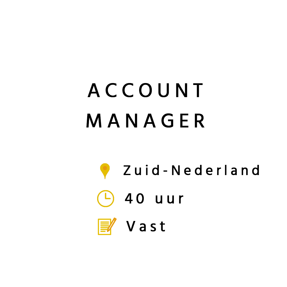 Accountmanager zuid