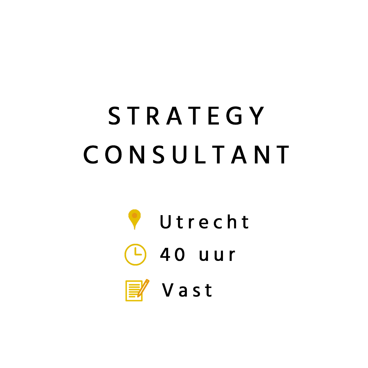 Strategy Consultant
