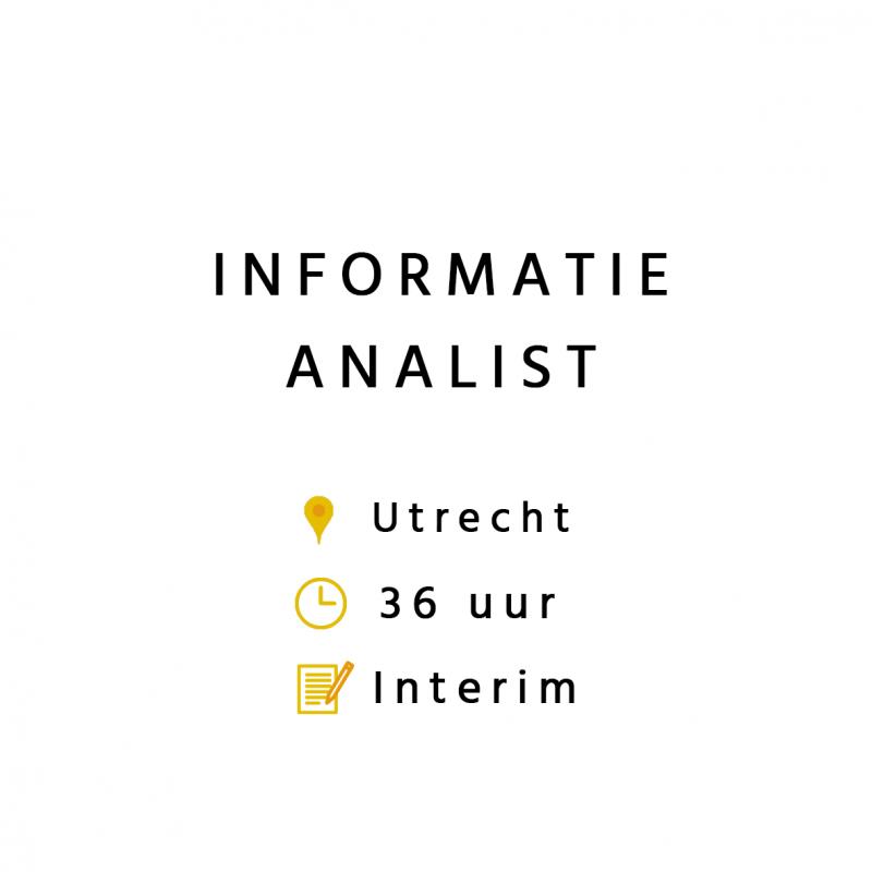 informatie analist